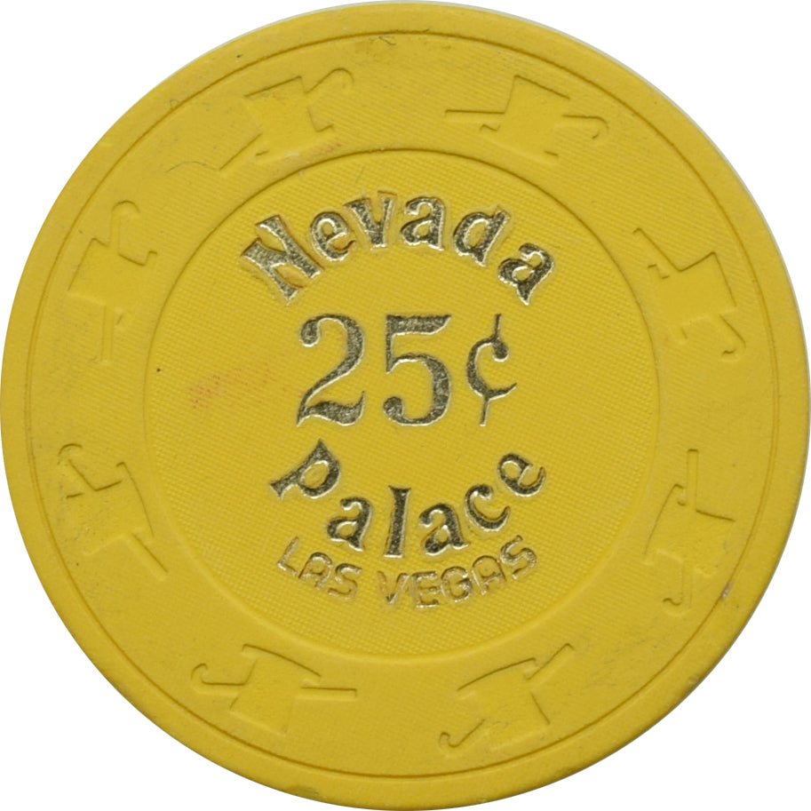 Nevada Palace Casino Las Vegas NV 25 Cent Chip 1979