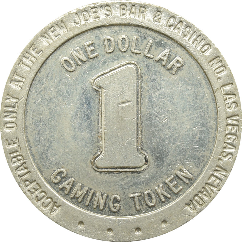 The New Joe's Bar & Casino N. Las Vegas NV $1 Token 1989