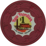 New Frontier Casino Las Vegas NV $1 Chip 1959