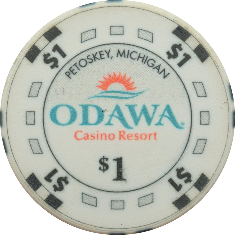 Odawa Casino Petoskey MI $1 Chip