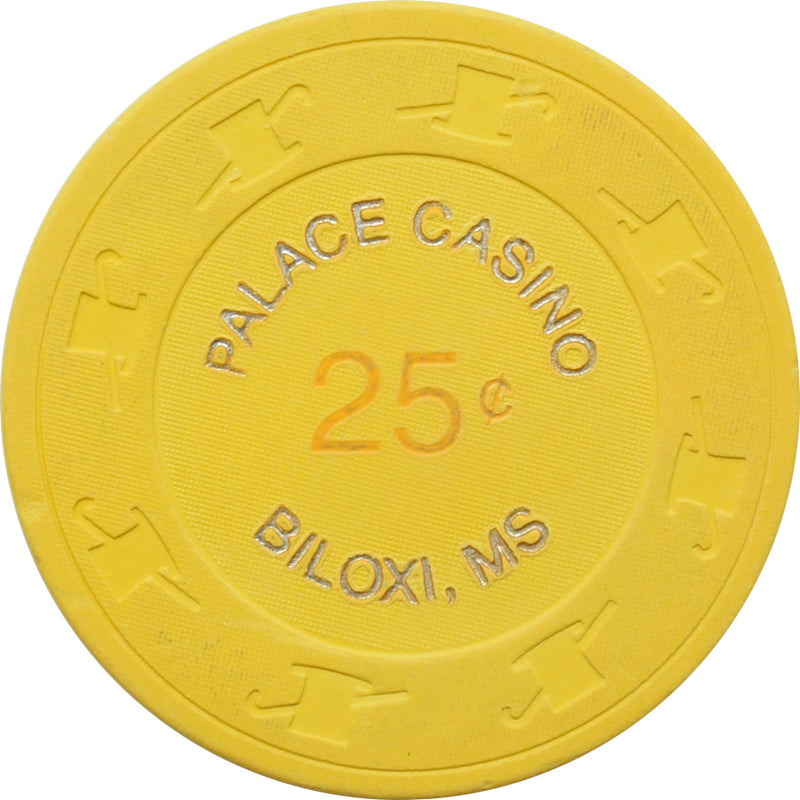 Palace Casino Biloxi MS 25 Cent Chip