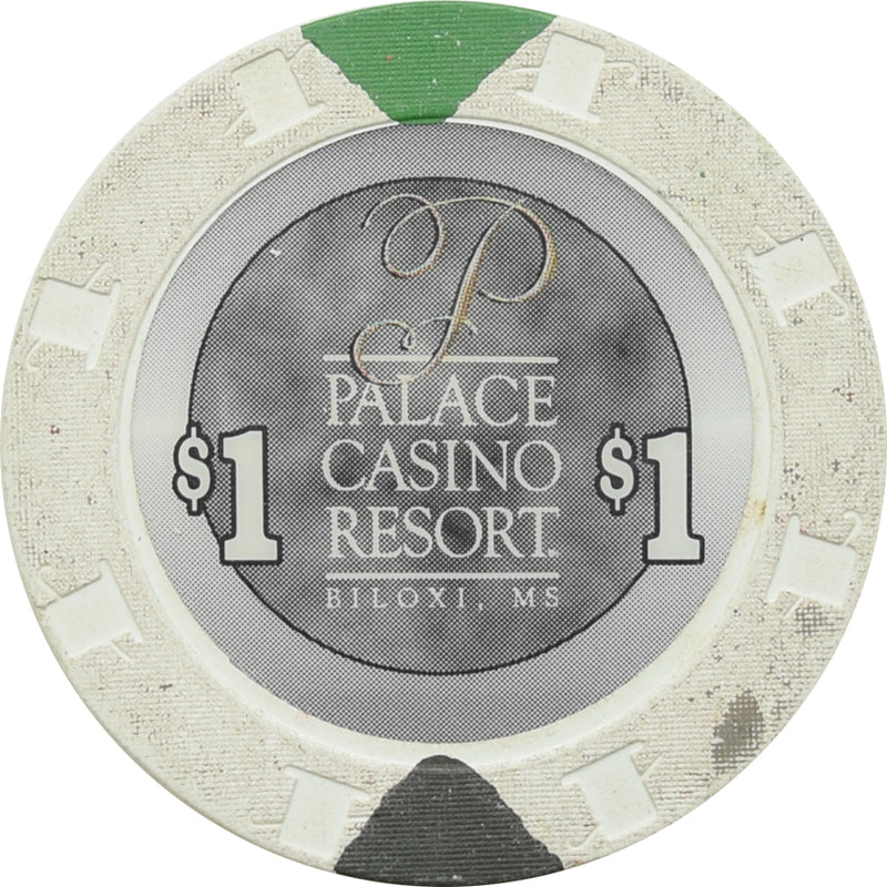 Palace Casino Resort Biloxi MS $1 Chip 2000