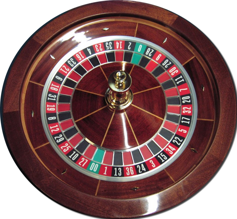 Professional Solid Mahogany Roulette Wheel - Spinettis Gaming - 6