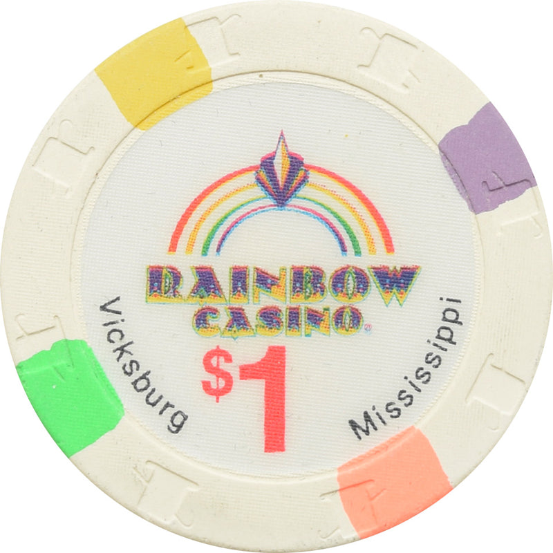 Rainbow Casino Vicksburg MS $1 Chip