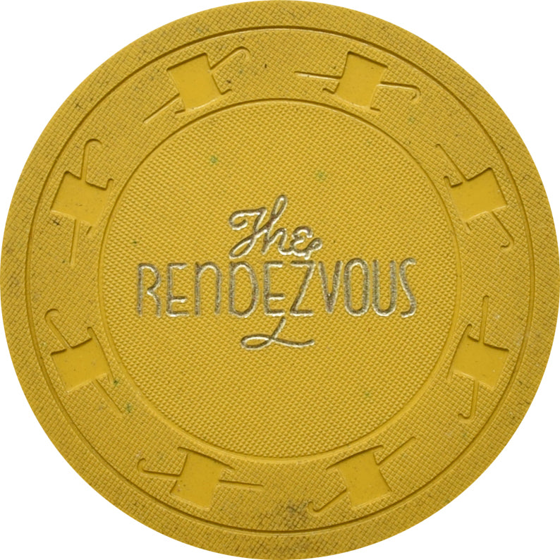 Rendezvous Casino Las Vegas NV 25 Cent Chip 1954