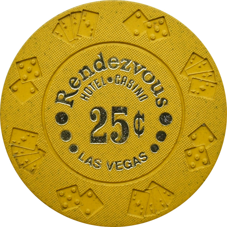 Rendezvous Casino Las Vegas NV 25 Cent Chip 1977