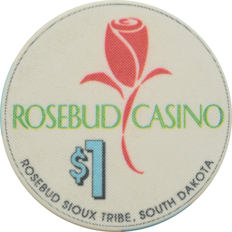 Rosebud Casino Mission SD $1 Chip