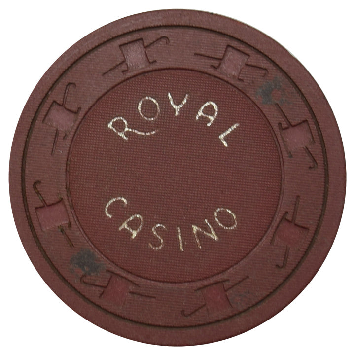 Royal Casino Henderson NV 25 Cent Chip 1960