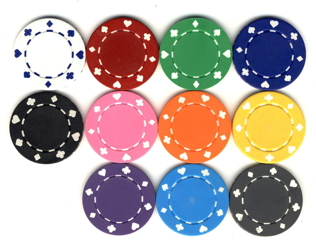 Suited Poker Chip