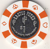 Cactus Pete's Casino $1 Chip - Spinettis Gaming - 1