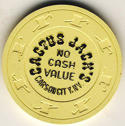 Cactus Jack's No Cash Value (Cream) Chip