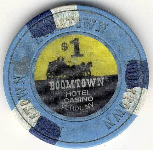 Boomtown Casino Verdi $1 Chip (house mold)