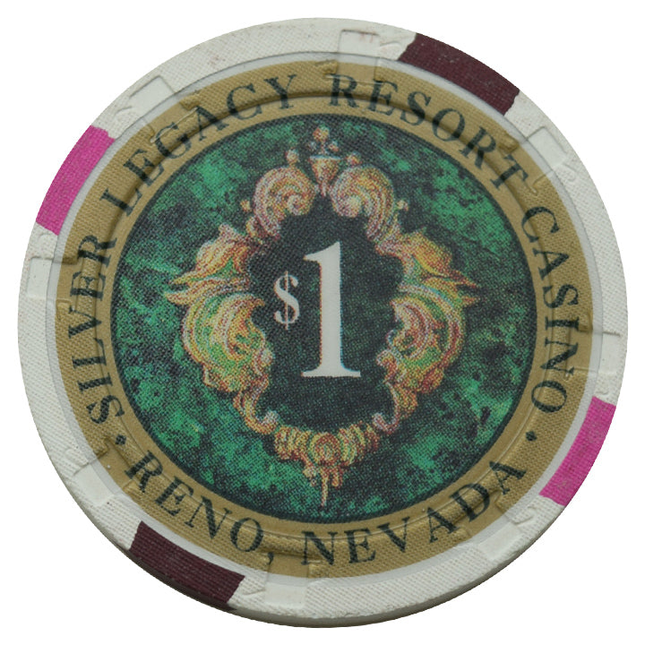 Silver Legacy Casino Reno NV $1 Chip