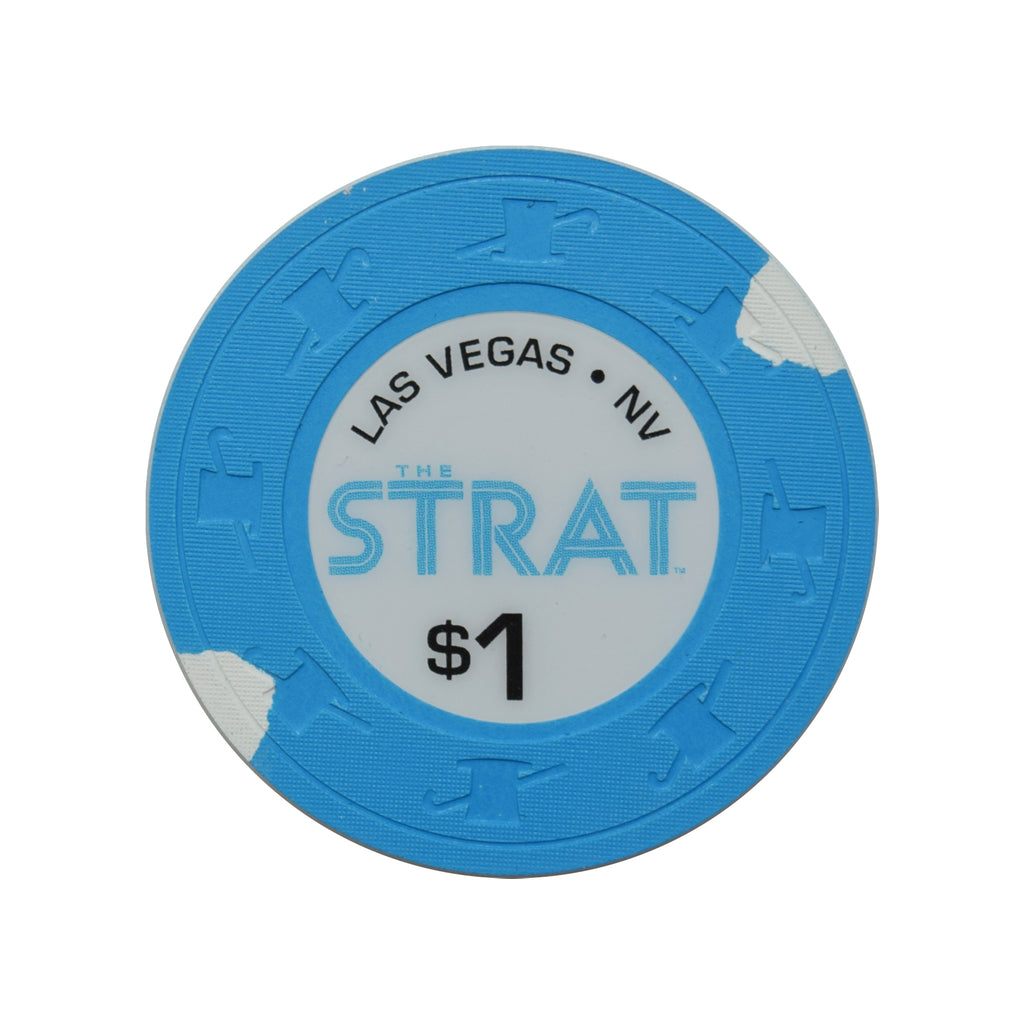 The Strat Casino Las Vegas NV $1 Chip 2019