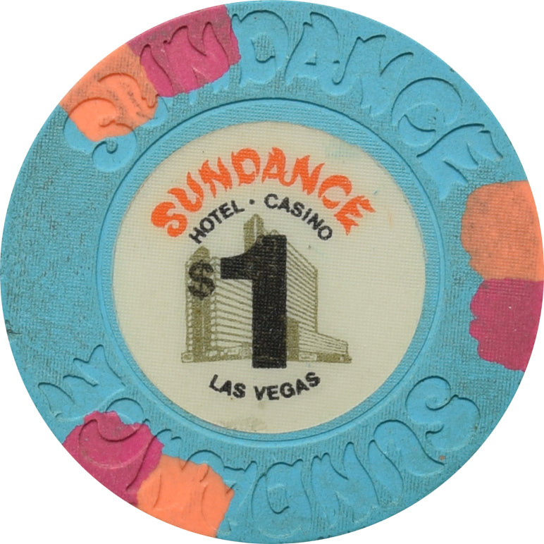 Sundance Casino Las Vegas NV $1 Chip 1985