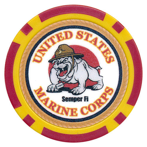 US Marine Corps Chip - Spinettis Gaming - 1