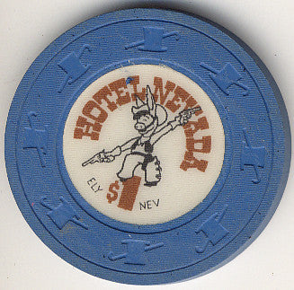 Hotel Nevada $1 (blue) chip