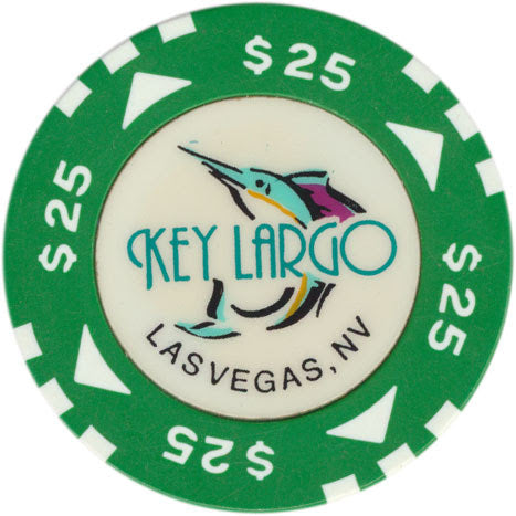 Key Largo Casino Las Vegas $25 Chip 1997