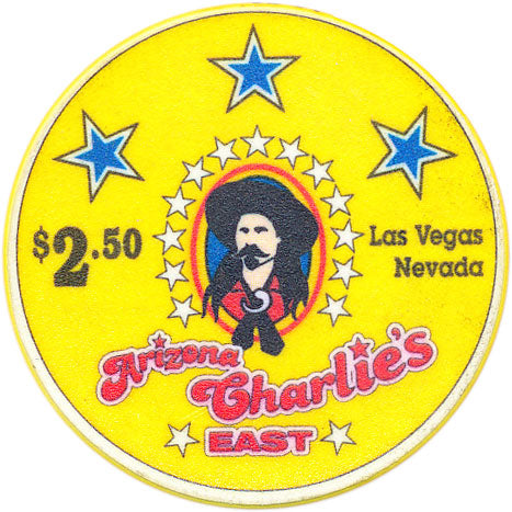 Arizona Charlies East Las Vegas $2.50 Chip 2000