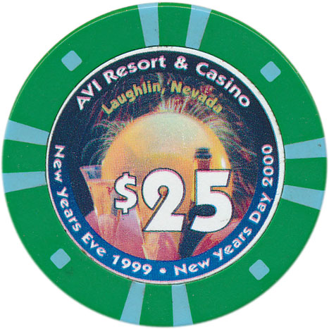 Avi Laughlin $25 Chip 1999
