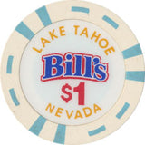 Bill's Lake Tahoe $1 Chip 2002