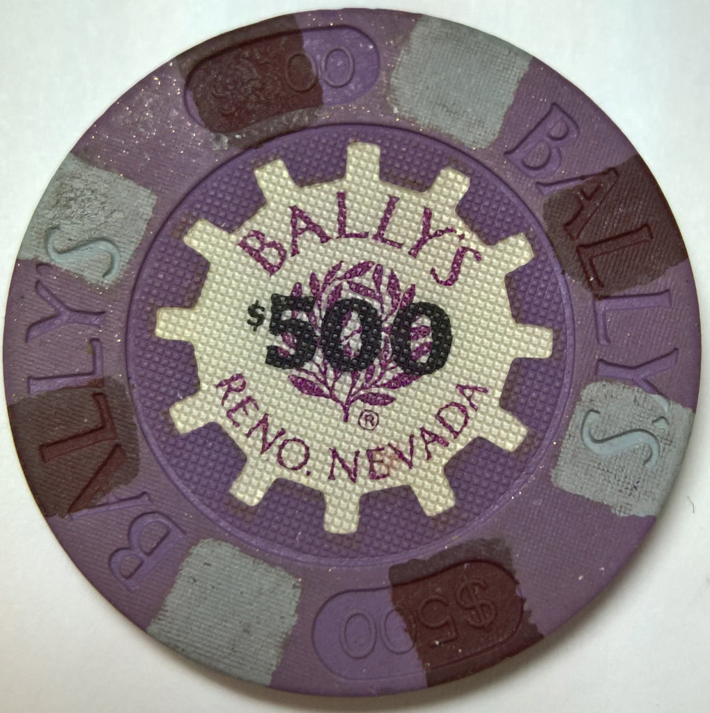 Bally's Reno $500 Casino Chip 1986