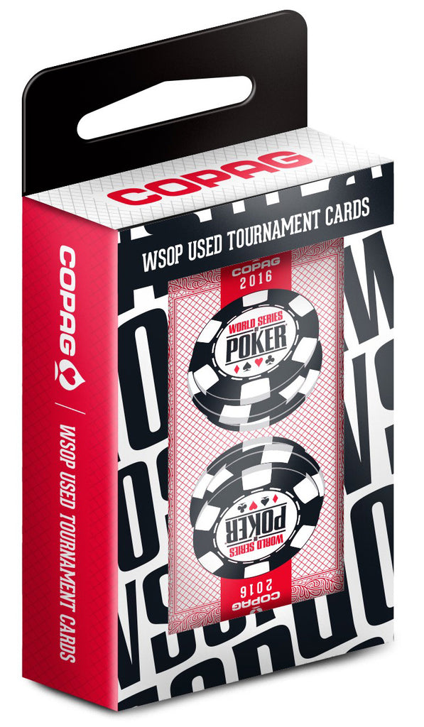 Authentic Deck Dealt at WSOP Used Copag Plastic Playing Cards Bridge Standard Index