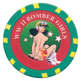 WW II Bomber Girls Chip P-47D Thunderbolt - Spinettis Gaming - 1