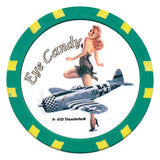 WW II Bomber Girls Chip P-47D Thunderbolt - Spinettis Gaming - 2