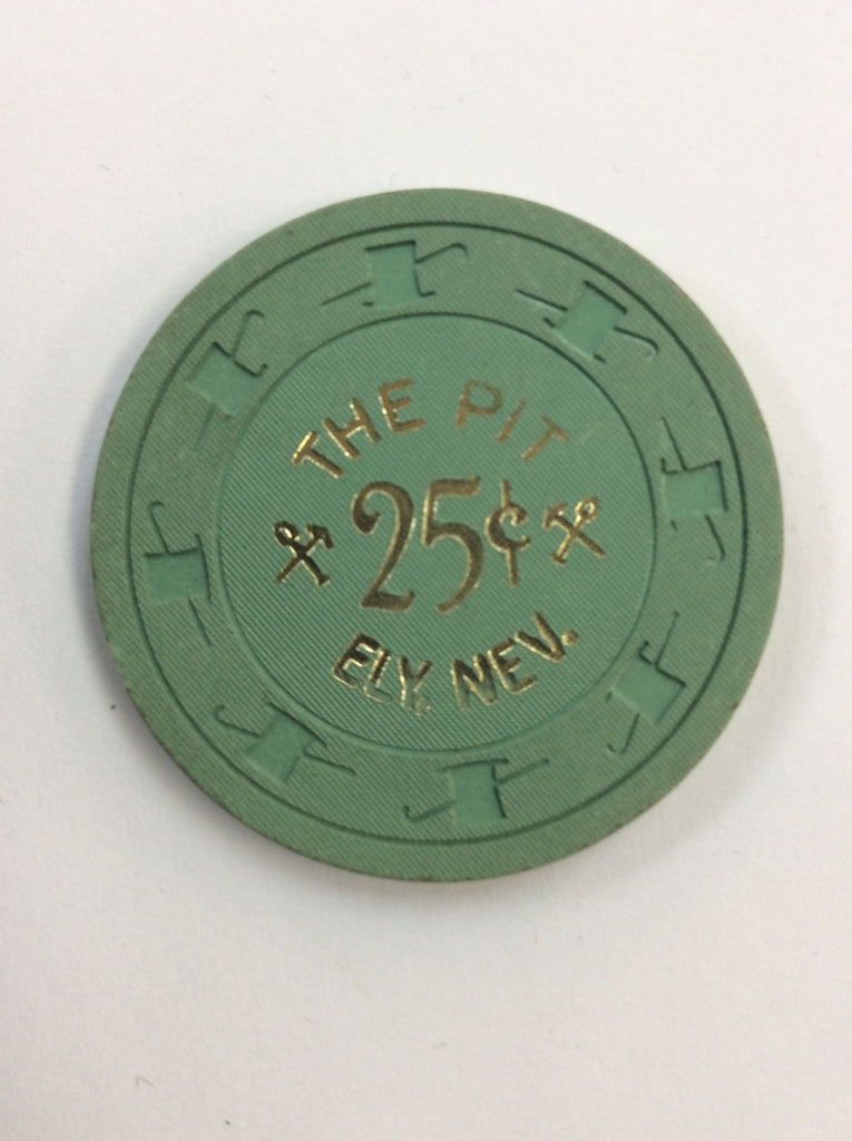 The Pit 25 (green) chip