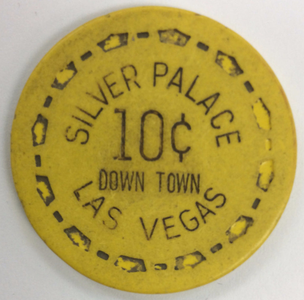 Silver Palace Casino Las Vegas 10cent chip 1961