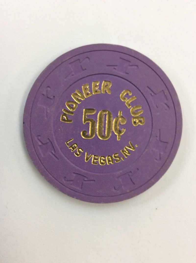 Pioneer Club 50cent (purple) chip - Spinettis Gaming