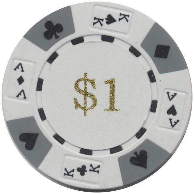 Ace / King Series 14g Poker Chip With Denominations - Spinettis Gaming - 2