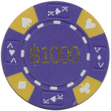 Ace / King Series 14g Poker Chip With Denominations - Spinettis Gaming - 7