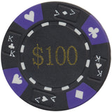 Ace / King Series 14g Poker Chip With Denominations - Spinettis Gaming - 5