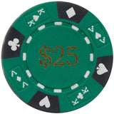 Ace / King Series 14g Poker Chip With Denominations - Spinettis Gaming - 4