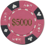 Ace / King Series 14g Poker Chip With Denominations - Spinettis Gaming - 8
