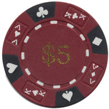 Ace / King Series 14g Poker Chip With Denominations - Spinettis Gaming - 3