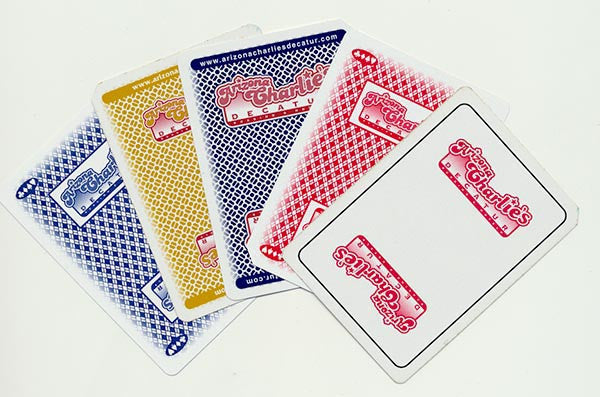 Arizona Charlies Decatur Used Deck of Casino Playing Cards