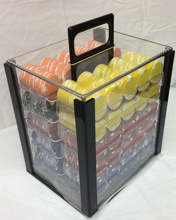 1000 Count Poker Chip Carrier Spinettis Gaming Supplies