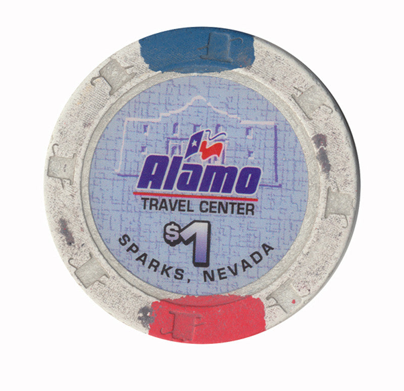 Alamo Travel Center Casino Sparks Nevada $1 Casino Chip