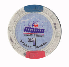 Alamo Travel Center Casino Sparks Nevada $1 Casino Chip - Spinettis Gaming