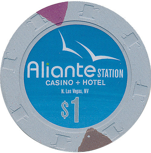 Aliante Station Casino North Las Vegas NV $1 Chip - Spinettis Gaming
