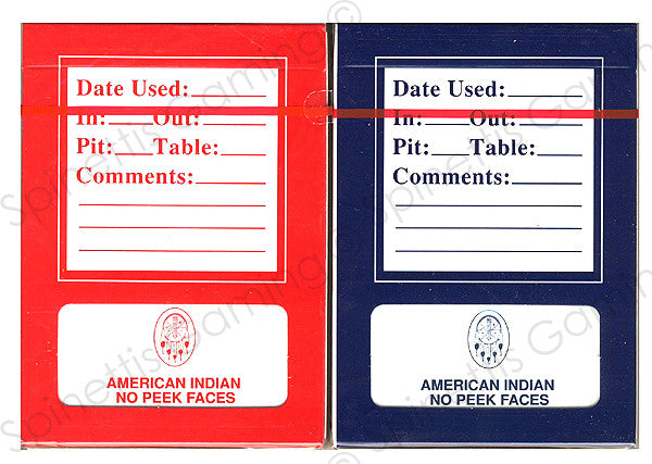American Indian Casino New Playing Card Deck - Spinettis Gaming - 1