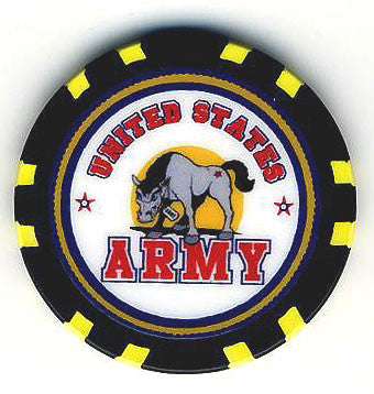 US Army Chip - Spinettis Gaming - 3