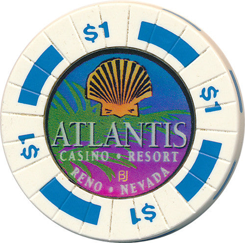 Atlantis, Reno NV $1 Casino Chip