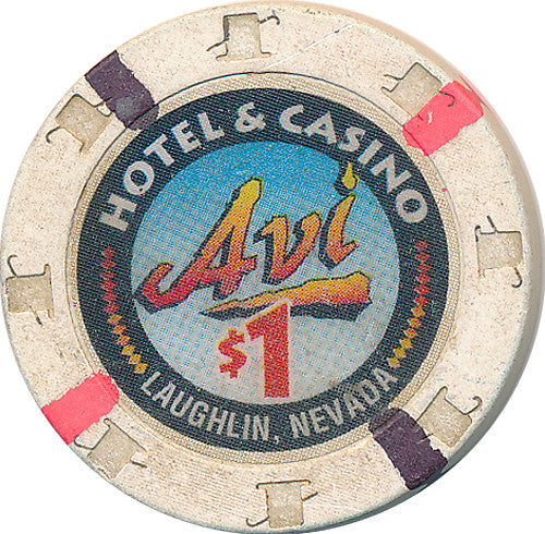 Avi, Laughlin NV $1 Casino Chip - Spinettis Gaming - 1
