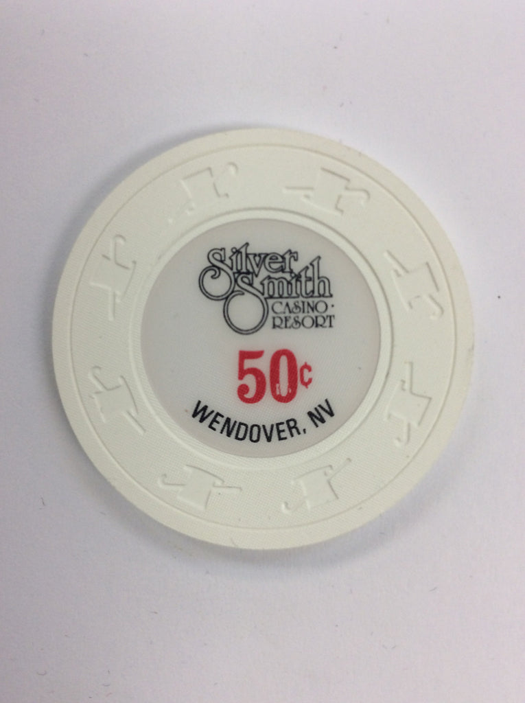 Silver Smith Casino Wendover NV 50 Cent Chip 1970s