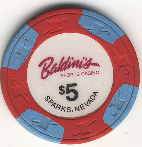Baldini's Casino $5 Chip - Spinettis Gaming