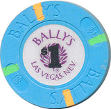 Bally's Las Vegas NV $1 Casino Chip 1986 Uncirculated - Spinettis Gaming